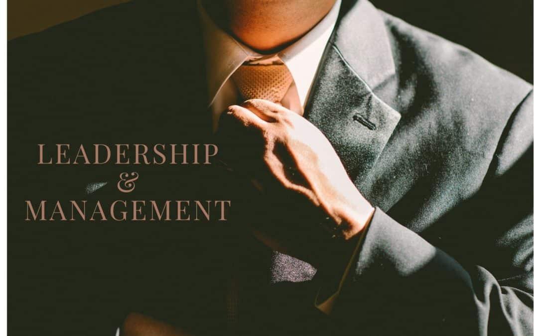 Teil 1. Leadership oder Management, was ist der Unterschied?